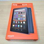 プライム会員必見!Amazonの『fire HD8 PLUS』を紹介(開封編)!